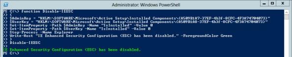 Обновление настроек IE через PowerShell