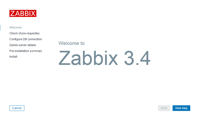 Welcome to Zabbix